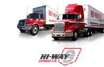 Hi-Way 9 LTL and truckload freight transportation and trucking in Alberta Western Canada