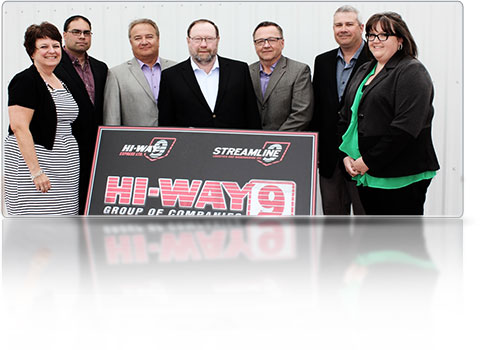 Hi-Way 9 Freight transportation, trucking and logistics - Our Vision