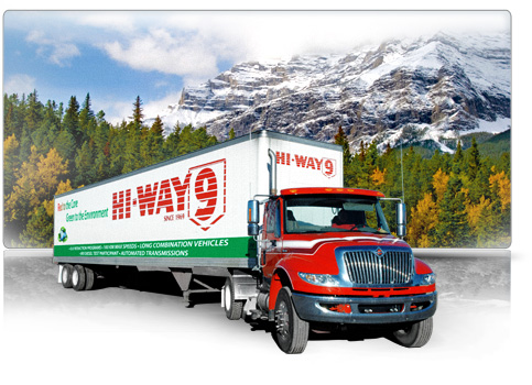 Hi-Way 9 Freight transportation, trucking and logistics - History